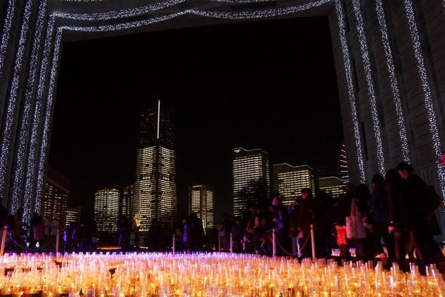 横浜タワーズミライト2014b