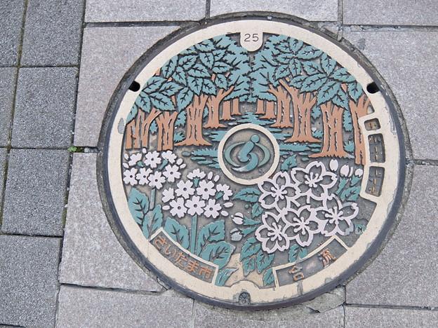 埼玉県・さいたま市(マンホールカード図案)