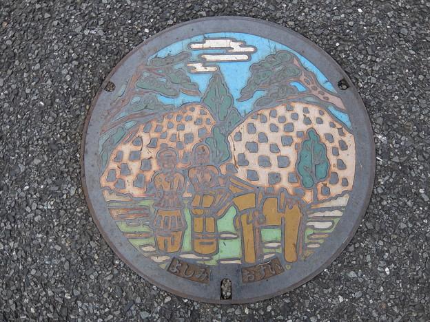 埼玉県・吉見町(マンホールカード図案)