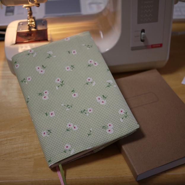 368ページノート用布カバー