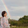 写真: 虹に乗って帰ろう
