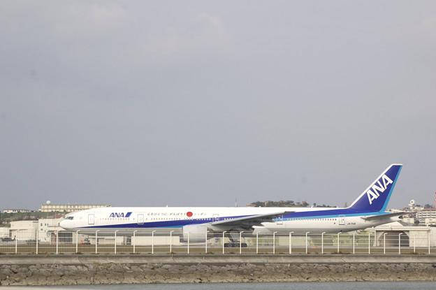 飛行機 ANA がんばろう日本