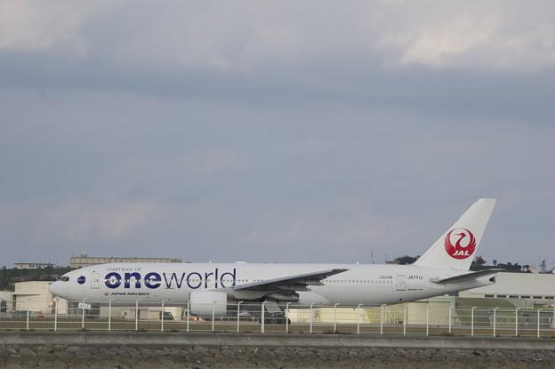 飛行機 JAL oneworld
