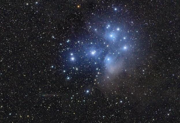 C2015ER61パンスターズ彗星とM45すばる