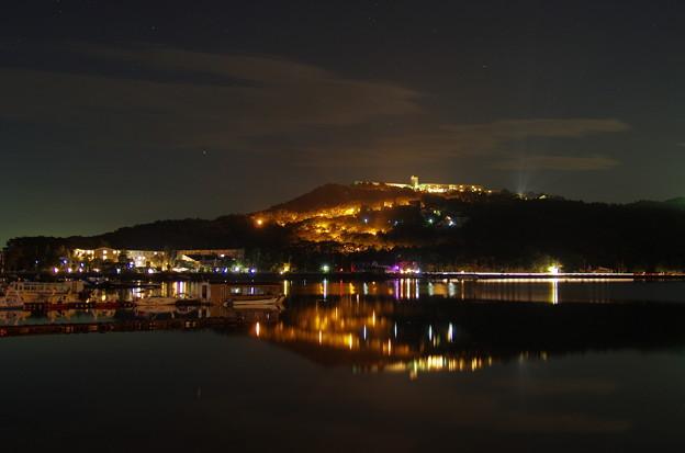 IMGP8309 湖畔の夜景