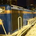 朝まだ暗い冬の札幌駅にて