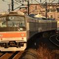 Photos: 武蔵野線205系M17編成1565E 夕陽の東川口にて