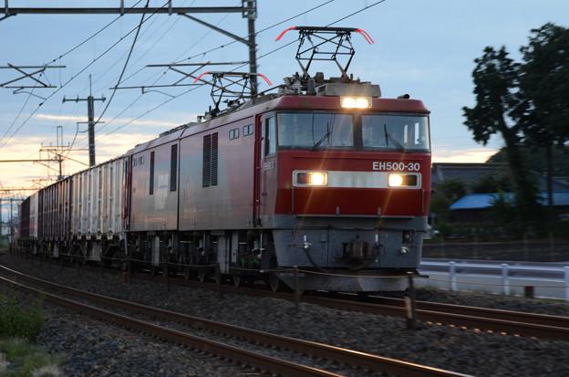 Photos: 黄昏の貨物列車