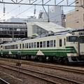 写真: 男鹿線色キハ48形・キハ40形