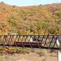 Photos: 湯西川橋梁を行く快速AIZUマウントエクスプレス3号
