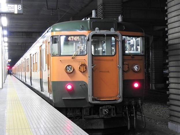 両毛線115系474M高崎行き