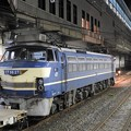 EF66 27号機小山11番待避発車待ち