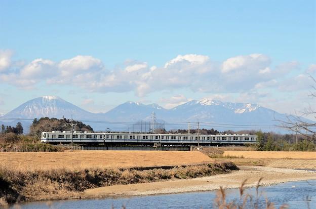 Photos: 日光連山・姿川と東武宇都宮線
