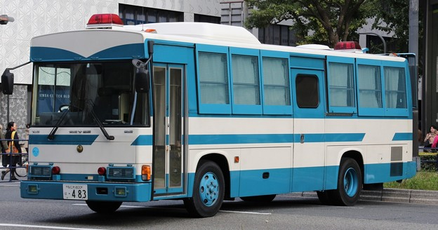 大阪府警 機動隊 大型輸送車