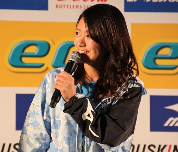 写真: 大阪マラソン2017 福本愛菜