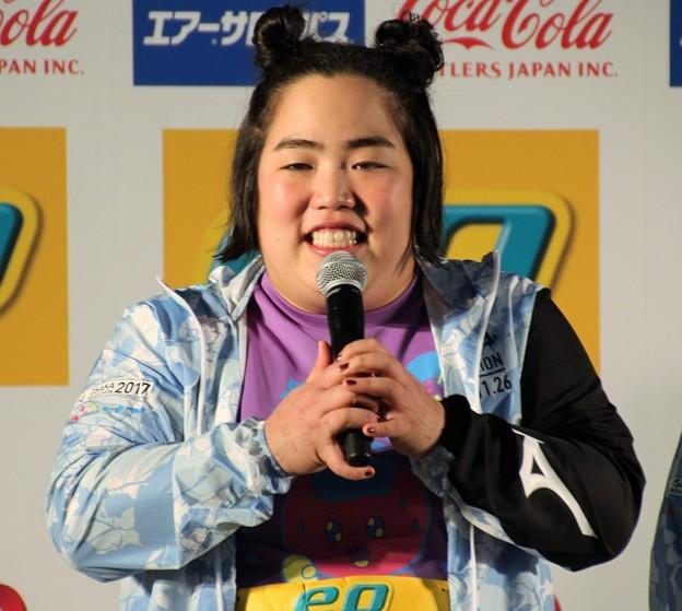 写真: 大阪マラソン2017 ゆりやんレトリィバァ