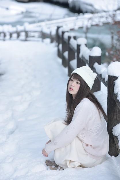 寒い日だから