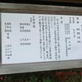 看板には、坂之上田村麻呂の建社