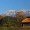 Photos: 大山そびえ立つ