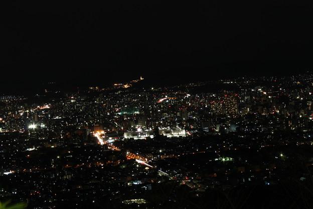 黄金山の夜景 (3)