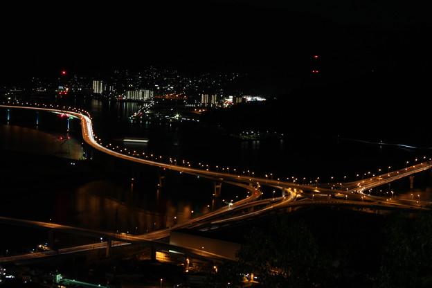 黄金山の夜景 (6)