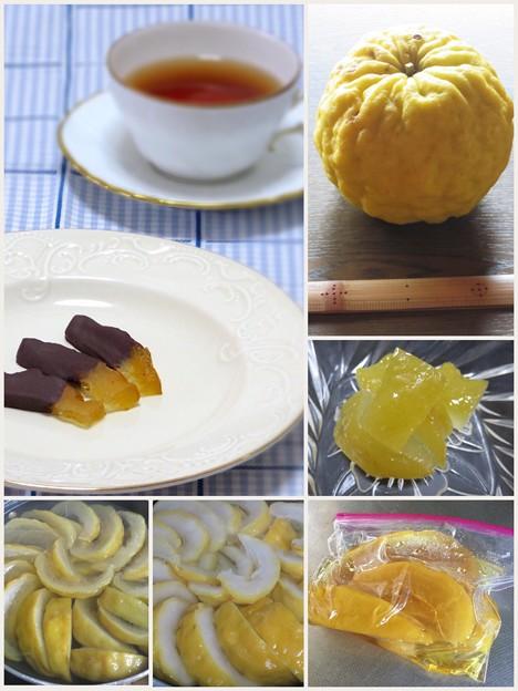 鬼柚子のチョコスティック