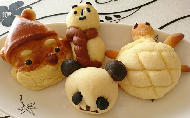 写真: 動物パン