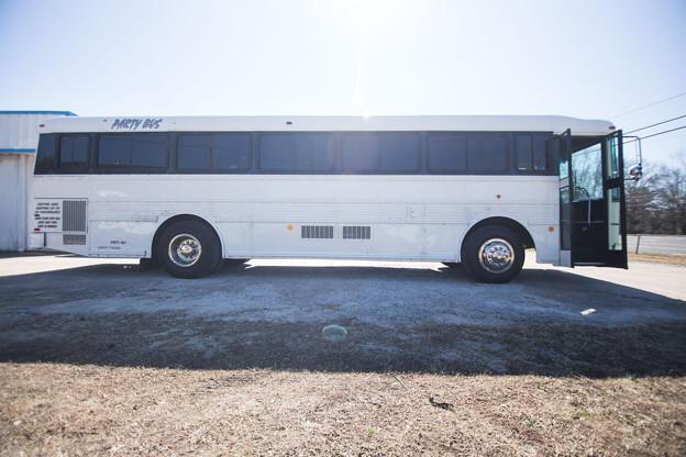 Party Bus For Atlanta | White Bear Bus | 35 passengers