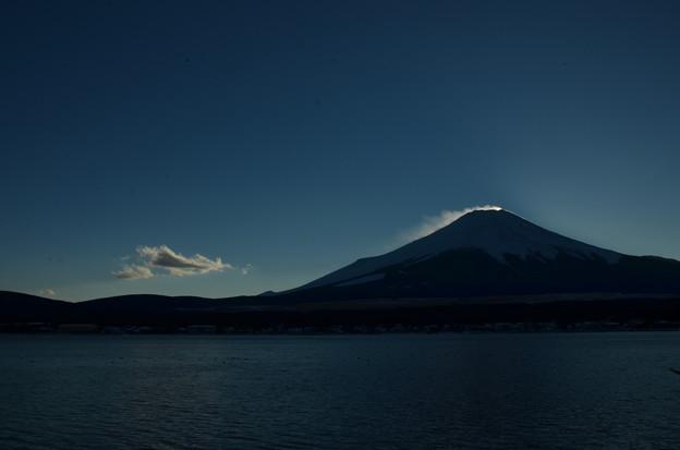 ダイヤモンド富士の名残4