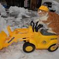 Photos: 除雪に出動