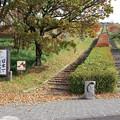 写真: 日本一の枕木階段 a