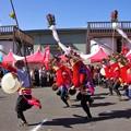 写真: 一本矢旗太鼓踊りa