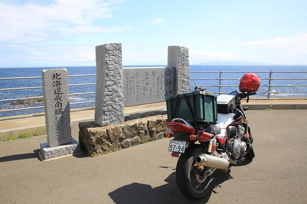 Photos: 140829-41北海道ツーリング・白神岬