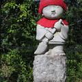 写真: 170929-93高尾山・山頂・おそうじ小僧