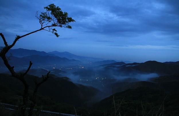 写真: 100510-1九州ロングツーリング・平尾台・夜明け前