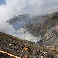 写真: 100512-91九州地方ロングツーリング・阿蘇中岳噴火口20