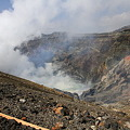 Photos: 100512-91九州地方ロングツーリング・阿蘇中岳噴火口20