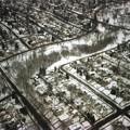 写真: ミネアポリス上空