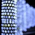 写真: 光の柱