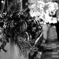 写真: 駅前のクリスマス