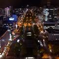 写真: さっぽろテレビ塔からの夜景