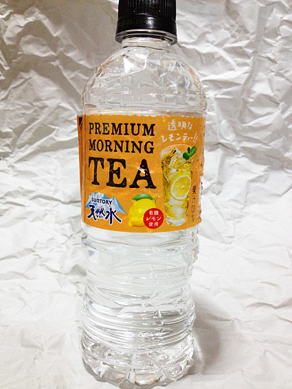天然水PREMIUM MORNING TEA(サントリー)