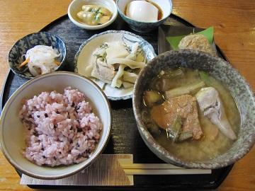 富久屋「むじぬ汁定食」