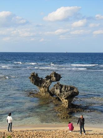 写真: ハートロック その1(古宇利島)
