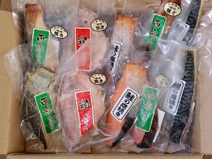 鈴八フーズ「焼き魚セット」その2