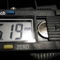 Photos: デジタルノギス 電池
