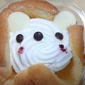 写真: 白クマレアチーズケーキ