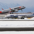 Photos: JJP A320にANA B787