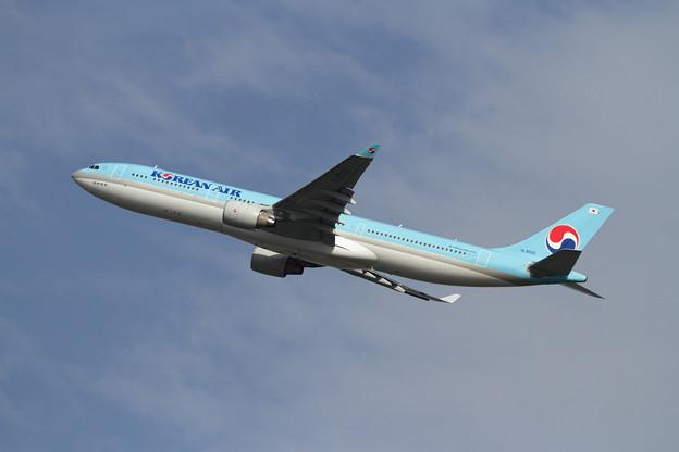 A330-300 KAL 秋の空へ