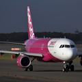 写真: A320 Peach Aviation